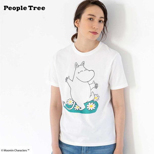 オーガニックコットン ムーミン ユニセックスTシャツ(半袖)