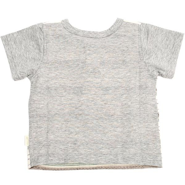 31c6cb29d2f41 ... オーガニックコットン ベビー ヘンリーネックTシャツ(半袖) yuga