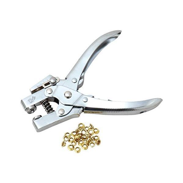 SK11 ハトメパンチ DX ハトメ穴径(5mmハトメ)約4.0mm・(8mmハトメ)約6.0mm 兼用 No.400