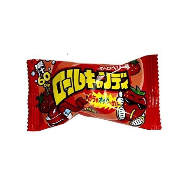 やおきん ロールキャンディ ストロベリー味 20g×24袋