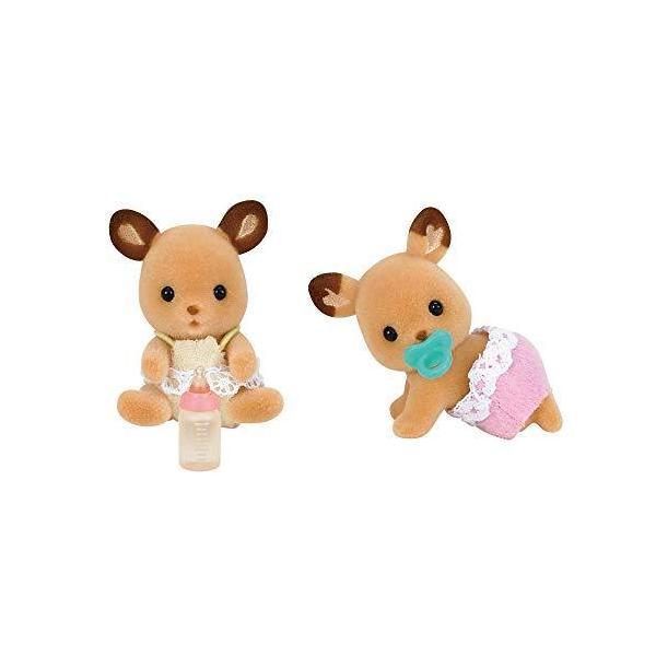 シルバニアファミリー 人形 シカのふたごちゃん シ-67