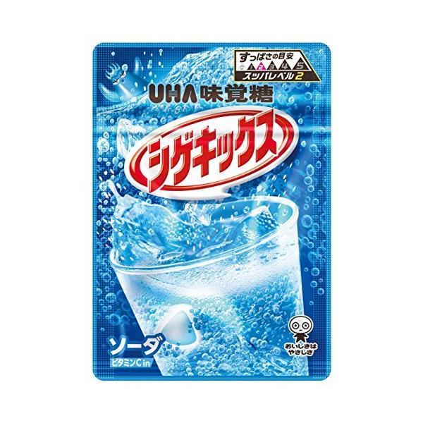 味覚糖   シゲキックス ソーダDX   20G×10袋
