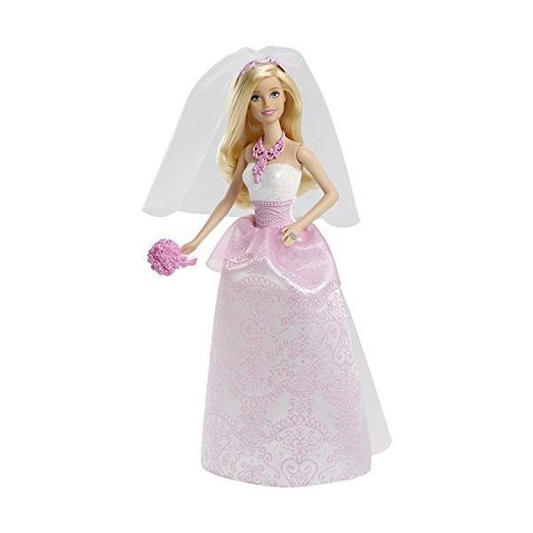バービー人形Barbie Fairytale Bride Doll [並行輸入品]