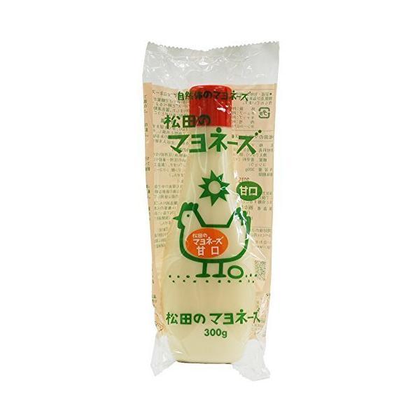 ムソー 松田 マヨネーズ・甘口 300g ×4セット