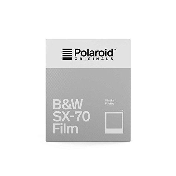 【国内正規品】 Polaroid Originals インスタントフィルム B&W Film for SX-70 モノクロフィルム 8枚入り4677