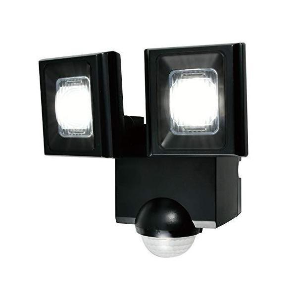 朝日電器 ELPA エルパ 乾電池式 センサーライト 2灯 お手軽サイズ 省エネ 安心の防水仕様 ESL-N112DC