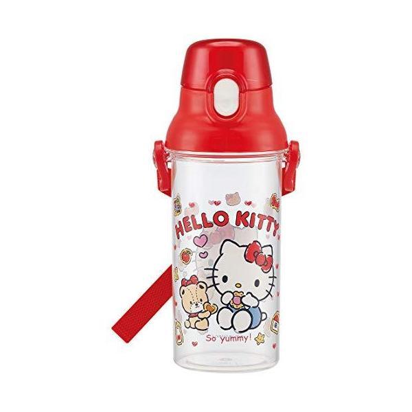 スケーター 子供用 水筒 クリアボトル 480ml ハローキティ クッキー サンリオ PSB5TR