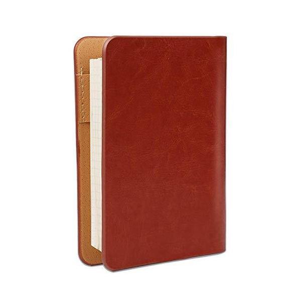 システム手帳 A7手帳 6穴リング ビジネスノート メモ帳 財布手帳 方眼ノート スケジュール帳 リフィル可能