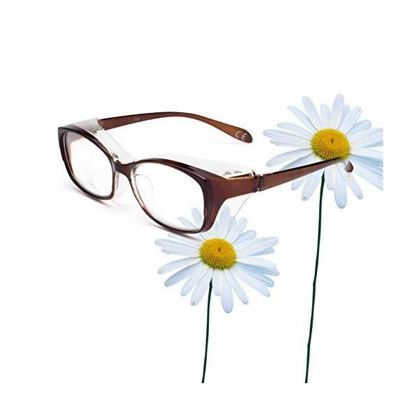 JO(ジ—オ—) 花粉メガネ レディース おしゃれ 眼鏡 花粉症 防塵 ドライアイ 対策 防止 UVカット グラス めがね 軽量 女性 花粉症対策 サ