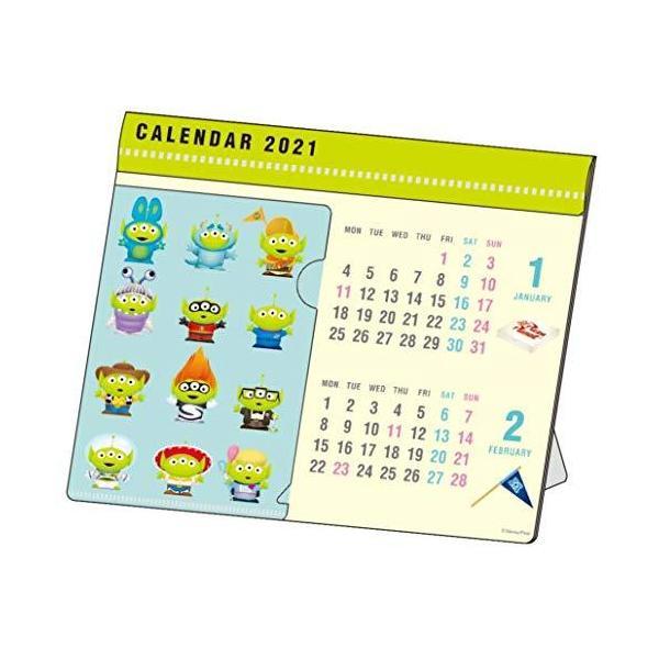 サンスター文具 ディズニー 2021年 カレンダー 卓上 エイリアン S8518882