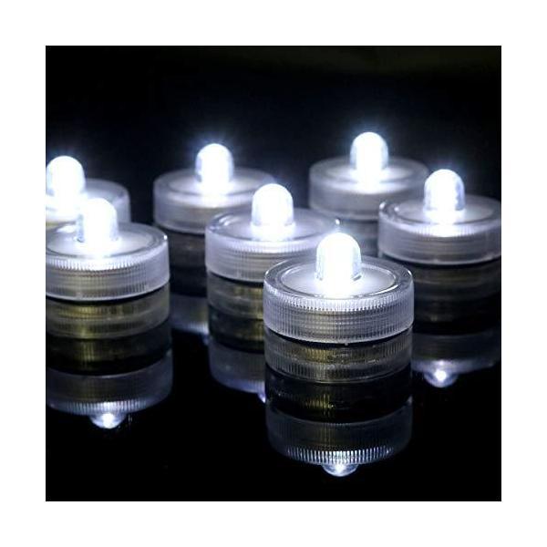 防水 潜水ライト イルミネーション 水中照明 電池式 RGB LEDライト 花瓶 金魚鉢 水槽 ハロウィン 誕生日会やパーティーなどの飾り クリスマス