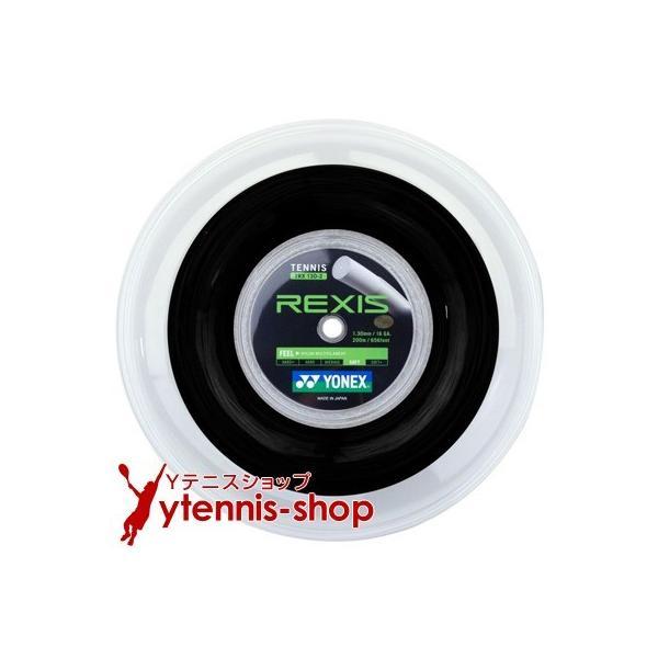 ヨネックス(YONEX) レクシス(REXIS) ブラック 1.30mm/1.25mm 200mロール ナイロンストリングス