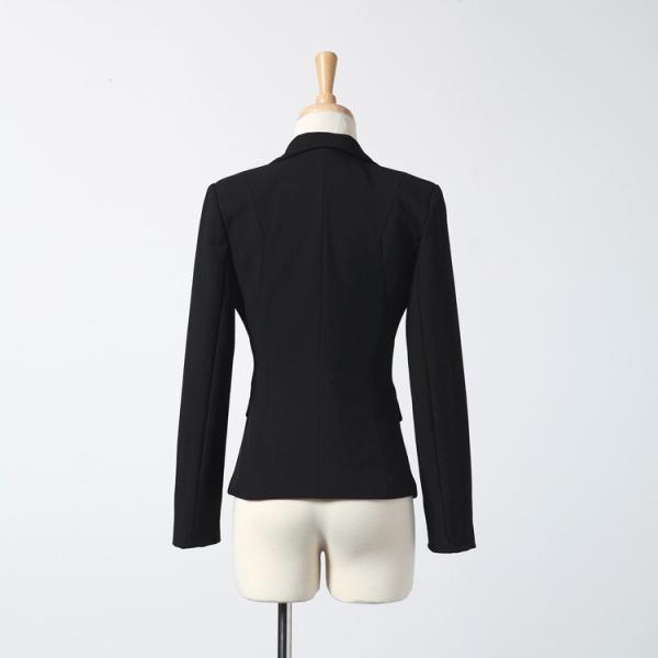 スーツ レディース パンツ スカート 通勤 就活 面接 長袖 2点セット オフィス ビジネス テーラードジャケット ストレッチ 黒 グレー|ytolive|16