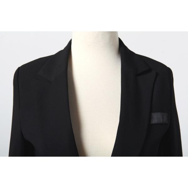 スーツ レディース パンツ スカート 通勤 就活 面接 長袖 2点セット オフィス ビジネス テーラードジャケット ストレッチ 黒 グレー|ytolive|18