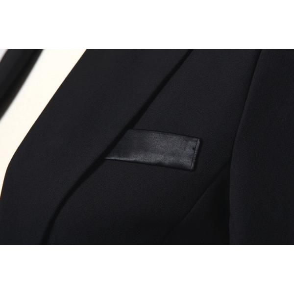 スーツ レディース パンツ スカート 通勤 就活 面接 長袖 2点セット オフィス ビジネス テーラードジャケット ストレッチ 黒 グレー|ytolive|19