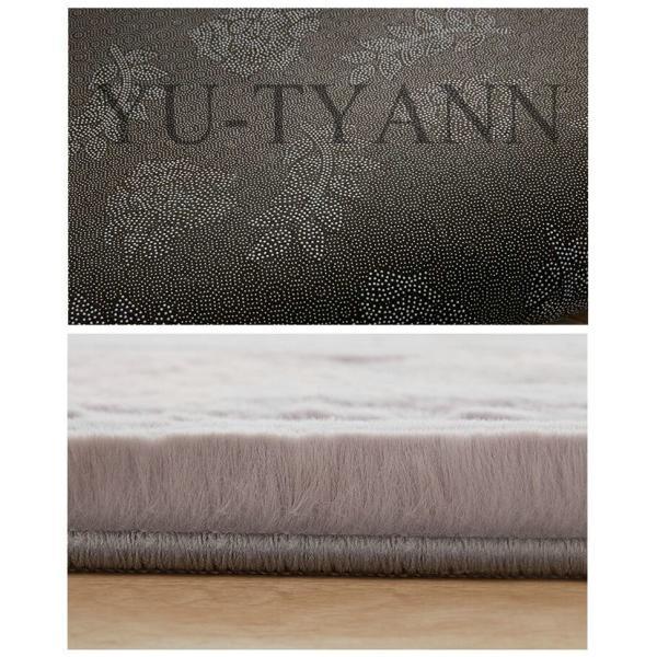 ラグ 北欧 ラグマット じゅうたん シャギーラグ 洗える 角型 ふわふわ もふもふ オールシーズン 厚み30mm ウォッシャブル カーペット 絨毯 夏 冬 新生活 yu-tyann 11