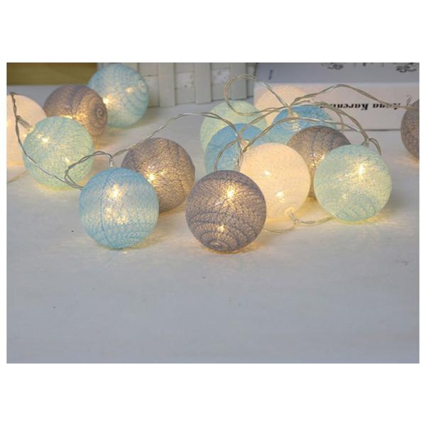 ストリングライト 綿 ボール LEDライト イルミネーションライト 年会 飾り 3m20灯 屋内 ロマンチック パーティー装飾 乾電池式 クリスマス 屋外 結婚式 誕生日|yu-tyann|08