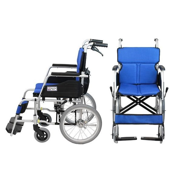 車椅子 車イス 車いす 軽量 折りたたみ ケアテックジャパン ハピネスコンパクト -介助式- CA-13SU 送料無料|yua-shop|08