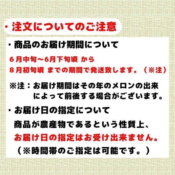 夕張メロン 訳あり 1.3から1.6kg前後(1玉) 個選品 わけあり グルメ 赤肉メロン 北海道|yubari-shouten|04
