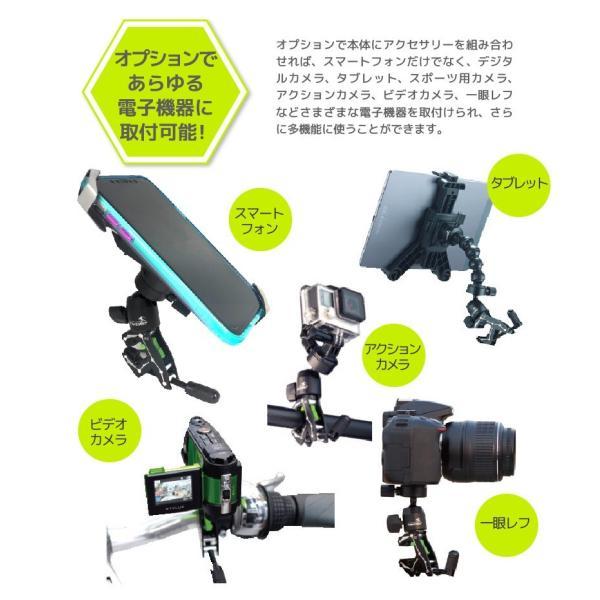 タブレット iPad ホルダー 固定 挟む クランプ 簡単 取付 カメラ アクションカメラ ゴープロ GoPro YouTube ユーチューブ 動画 映画 ドライブ|yubuhin|05