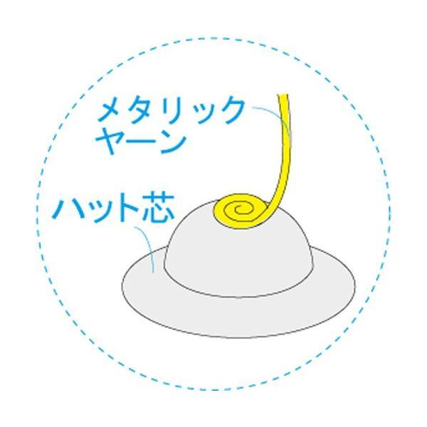 兜飾り LH-131 メタリックヤーンで作るパナミ手芸キット (メール便可/お取り寄せ) yucasiho 02