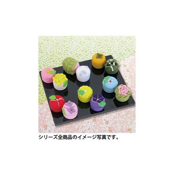 「PA-691 柿と黒松」 和菓子マグネット エコクラフト手づくりキット-オリムパス (メール便可/お取り寄せ)|yucasiho|04
