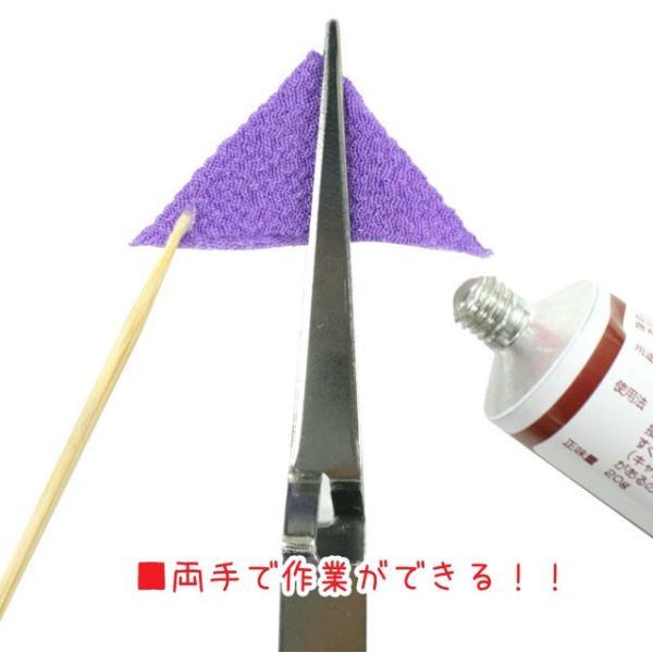 【つまみ細工に便利なピンセット】ハサミッコ [TM-5500] (メール便可/お取り寄せ)|yucasiho|04