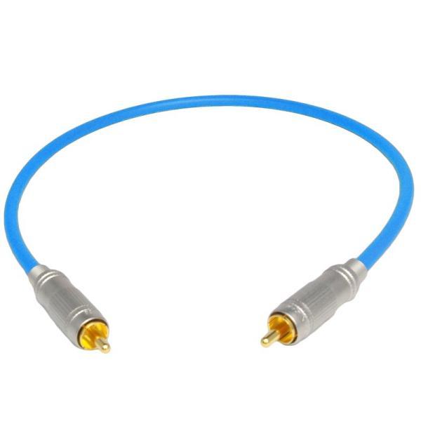 長さ0.5m(50cm) ハイレゾ音源192kHz/24bit対応 同軸デジタルケーブル(coaxial) コアキシャル|yudios|02