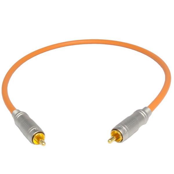 長さ0.5m(50cm) ハイレゾ音源192kHz/24bit対応 同軸デジタルケーブル(coaxial) コアキシャル|yudios|03