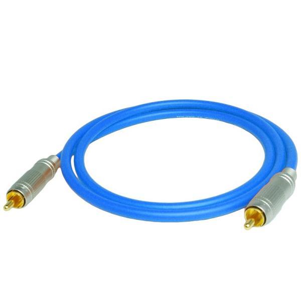 長さ1.0m(100cm) ハイレゾ音源192kHz/24bit対応 同軸デジタルケーブル(coaxial) コアキシャル|yudios|02