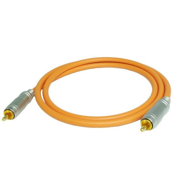 長さ1.0m(100cm) ハイレゾ音源192kHz/24bit対応 同軸デジタルケーブル(coaxial) コアキシャル|yudios|03