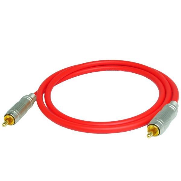 長さ1.0m(100cm) ハイレゾ音源192kHz/24bit対応 同軸デジタルケーブル(coaxial) コアキシャル|yudios|04