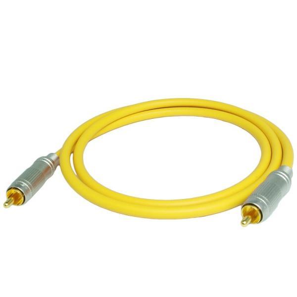 長さ1.0m(100cm) ハイレゾ音源192kHz/24bit対応 同軸デジタルケーブル(coaxial) コアキシャル|yudios|05