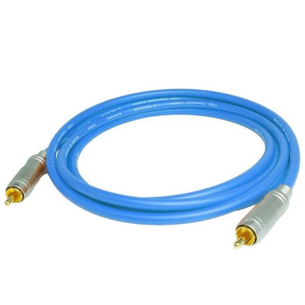 長さ2.0m(200cm) ハイレゾ音源192kHz/24bit対応 同軸デジタルケーブル(coaxial) コアキシャル