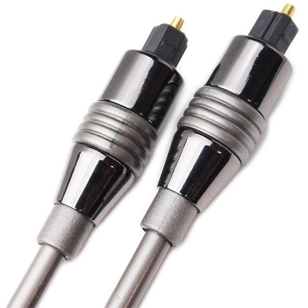 Amulech 長さ5.0m(500cm) ハイレゾ音源192kHz/24bit対応 角形−角形 光デジタルケーブル AL-SOP192SQ50|yudios