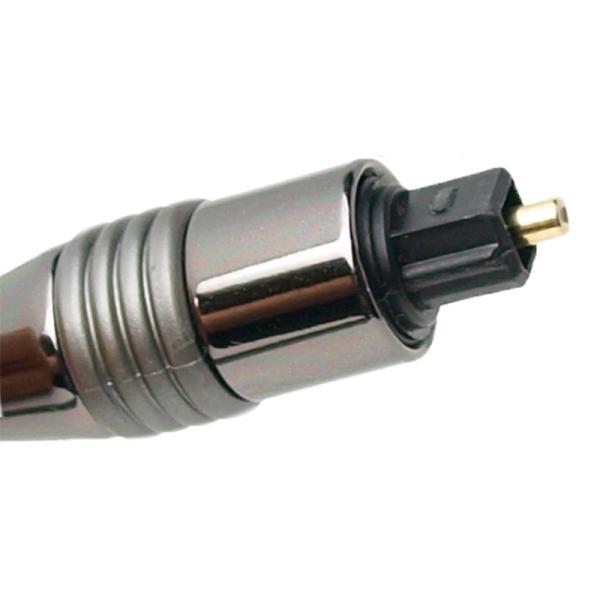 Amulech 長さ5.0m(500cm) ハイレゾ音源192kHz/24bit対応 角形−角形 光デジタルケーブル AL-SOP192SQ50|yudios|04