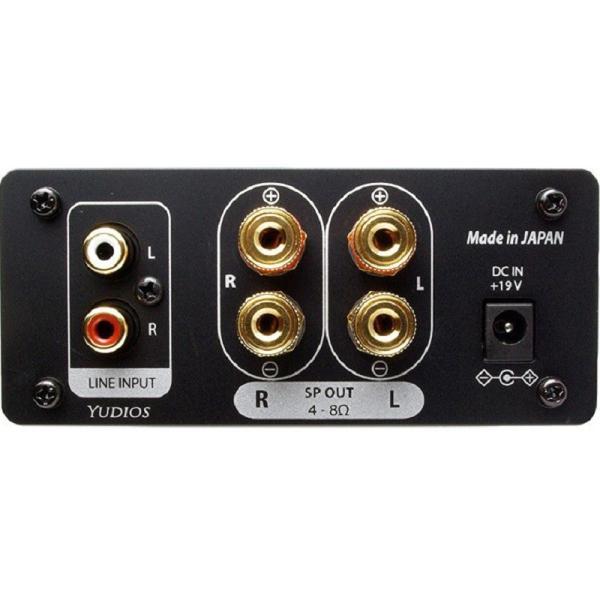 サブウーファーモード及び3バンド・イコライザ機能付き最大出力30W+30W(4Ω)デジタルアンプ|yudios|03