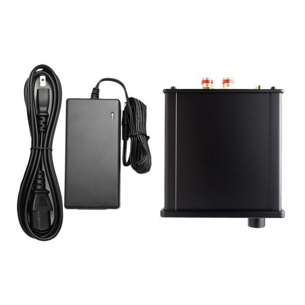 サブウーファーモード及び3バンド・イコライザ機能付き最大出力30W+30W(4Ω)デジタルアンプ|yudios|05