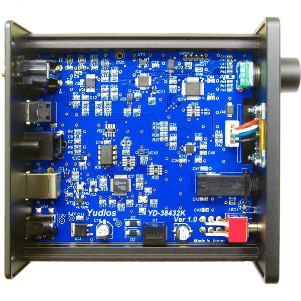 YD-38432K PCM384kHz/DSD5.6MHz&2.8MHz(DoP)対応USB-D/Aコンバーター(DAC) DDC機能付き(光・同軸出力端子) yudios 06
