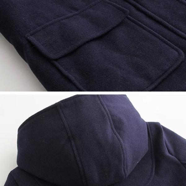 森ガール ダッフルコート レディース 学生 ショート コート フード ダッフルコート 大きいサイズ アウター 通勤 女子 女性|yuhin|11