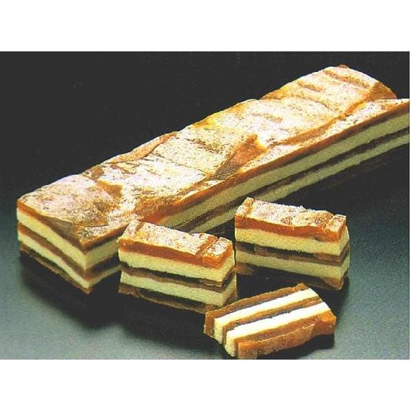 柿博多サンド (約2.5x5x18cm 約210g/本 干し柿 バターサンド) [冷凍]