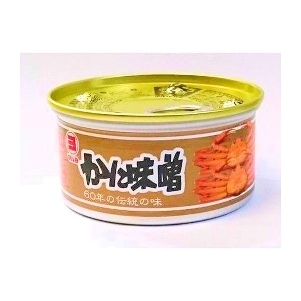 兵庫県産 かに味噌 100g  マルヨ (蟹みそ カニミソ 缶詰 ) [常温]