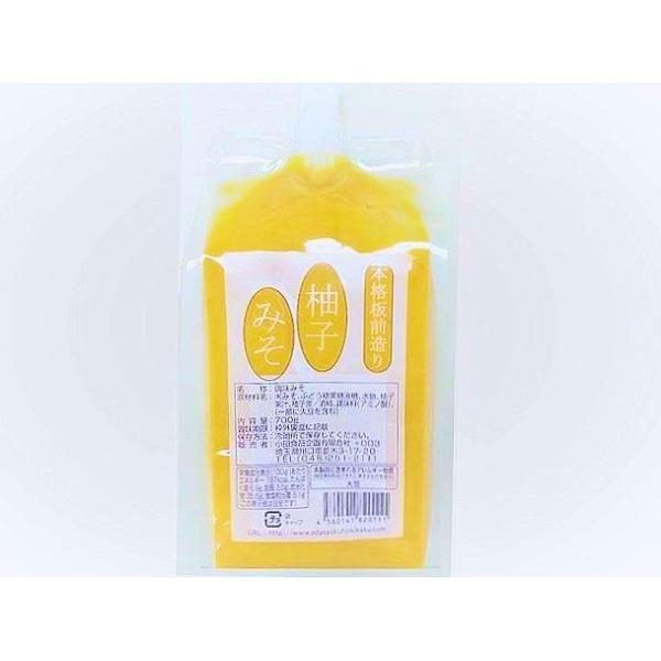 日動 柚子味噌 600g 業務用 (ゆずみそ ゆず味噌 ユズ味噌 柚子みそ) [冷蔵(冷凍可)]