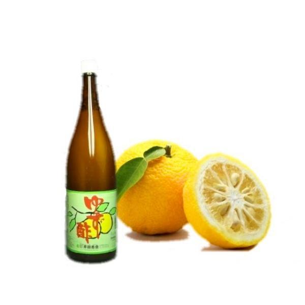 柚子酢 1.8L (瓶込:約3kg 100サイズ 柑橘 果汁 ゆず ユズ ポン酢 ぽん酢) [冷蔵(冬季常温)]