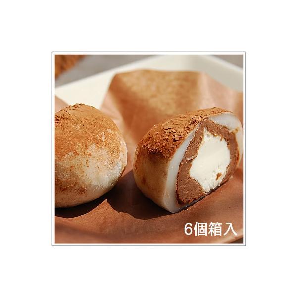 生クリーム大福:うさぎのしっぽ ショコラ餅(6個入)