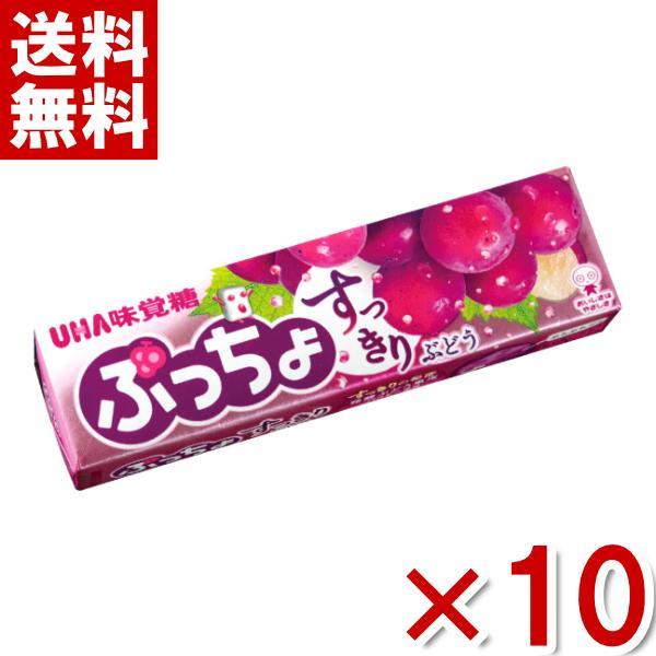 味覚糖 ぷっちょスティック 贅沢ぶどう 10入 (ポイント消化) (np)* メール便全国送料無料