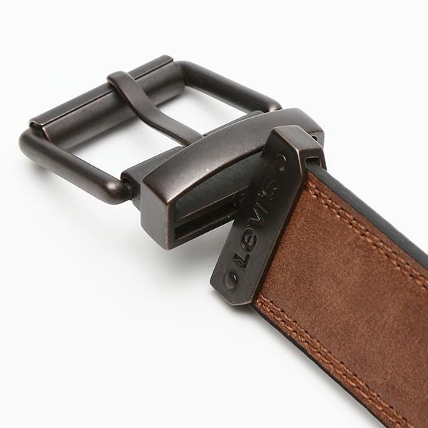 メンズベルト 本革ベルト リーバイス Levi's  リバーシブル牛革ベルト 38mm ナチュラル USA直輸入モデル ジーンズ デニム コーデ 11LV02UV 送料無料|yukyuno-tabibito|04