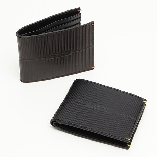 メンズ財布 人気ブランド カルバンクライン CALVIN KLEIN シーケー ck 2つ折り本革財布 RFID ダブル札入れ USA直輸入モデル 79803 送料無料|yukyuno-tabibito
