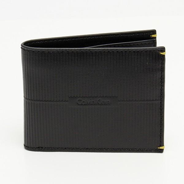 メンズ財布 人気ブランド カルバンクライン CALVIN KLEIN シーケー ck 2つ折り本革財布 RFID ダブル札入れ USA直輸入モデル 79803 送料無料|yukyuno-tabibito|02