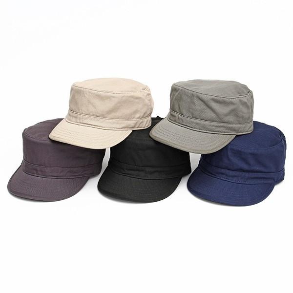 帽子 ワークキャップ newhattan ニューハッタン ミリタリーキャップ サイズ調整アジャスター付 コットン100% 男女兼用 全5色 USA 直輸入モデル 送料無料 6012|yukyuno-tabibito